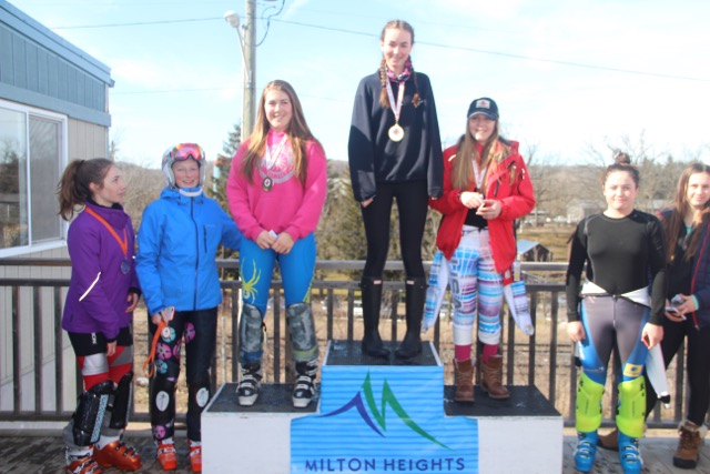 U16 Milton Feb 20 podium