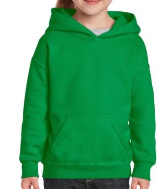 Junior Hoodie_Irish Green